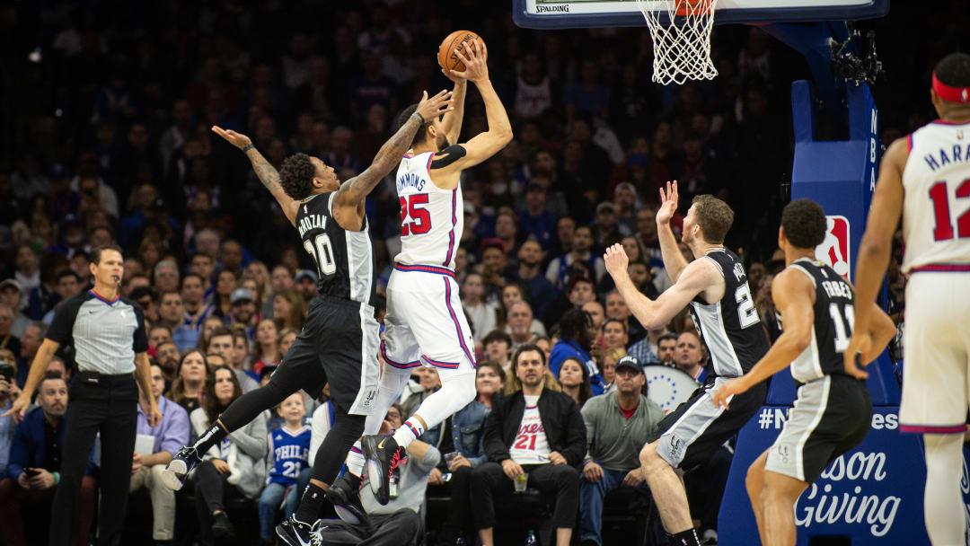 DeMar DeRozan - San Antonio Spurs v Philadelphia 76ers