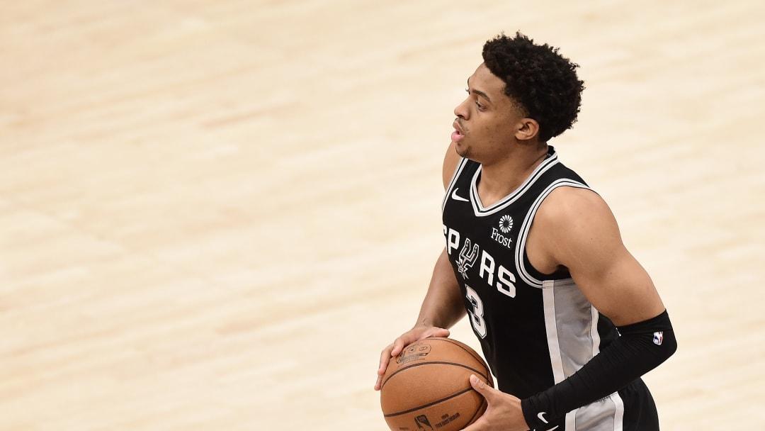 San Antonio Spurs Keldon Johnson