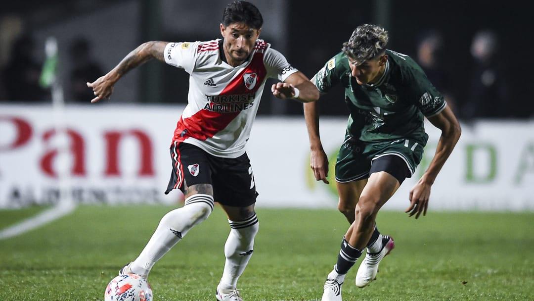 Milton Casco en River Plate