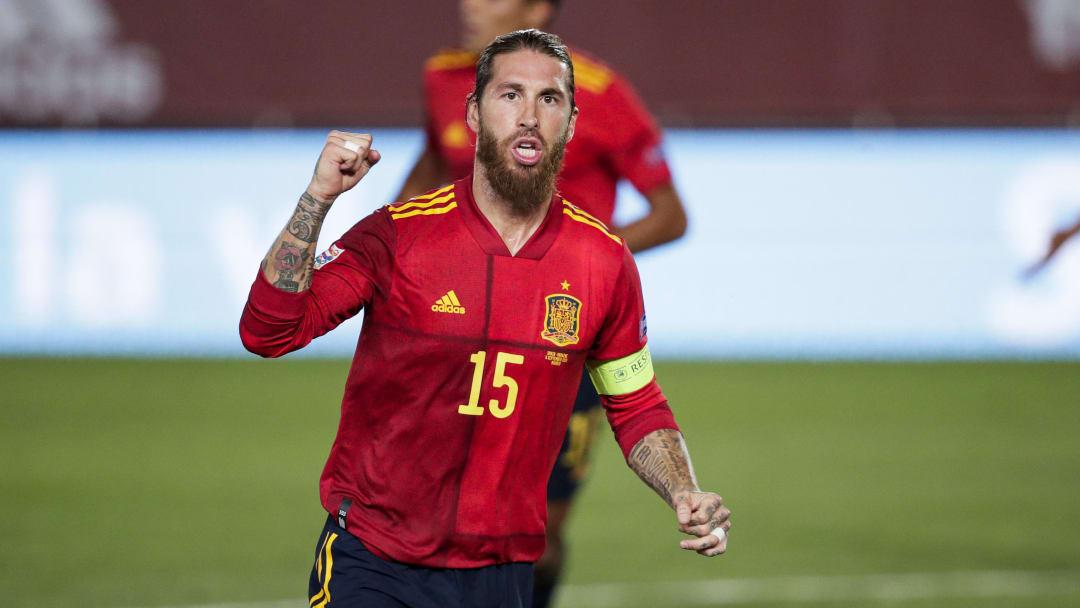 Spain  v Ukraine  -UEFA Nations league