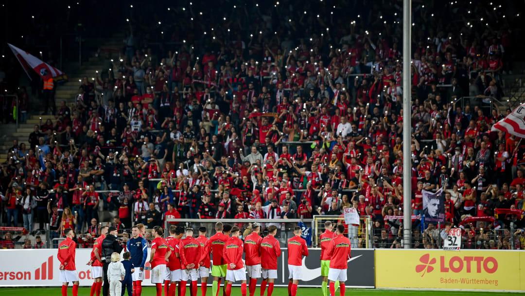 Der SC Freiburg hat sein letztes Spiel im Dreisamstadion bestritten