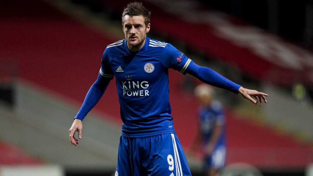 Vardy was on target midweek to help LCFC through their Europa League group.