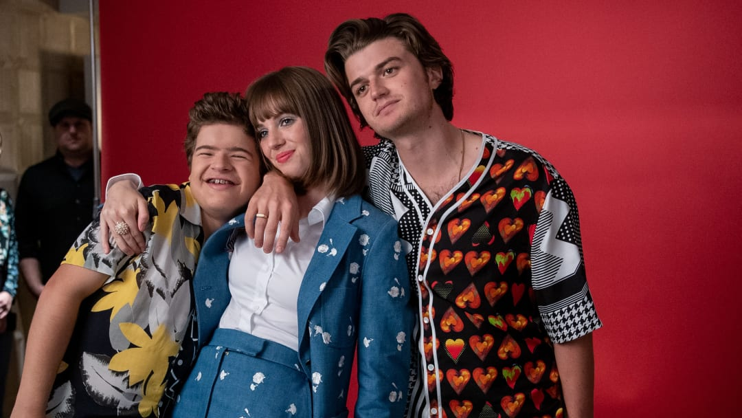 Joe Keery and Maya Hawke reflected on 'Stranger Things' season three in a new interview.