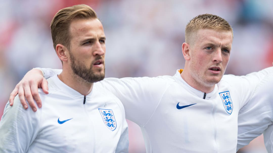 Harry Kane, Jordan Pickford
