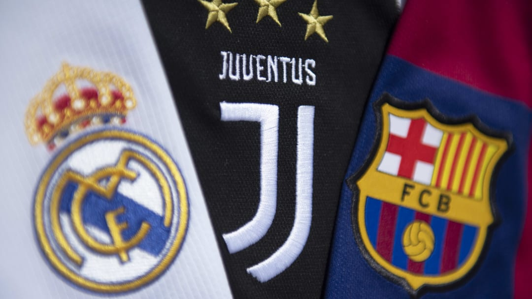 Real, Juve e Barcellona