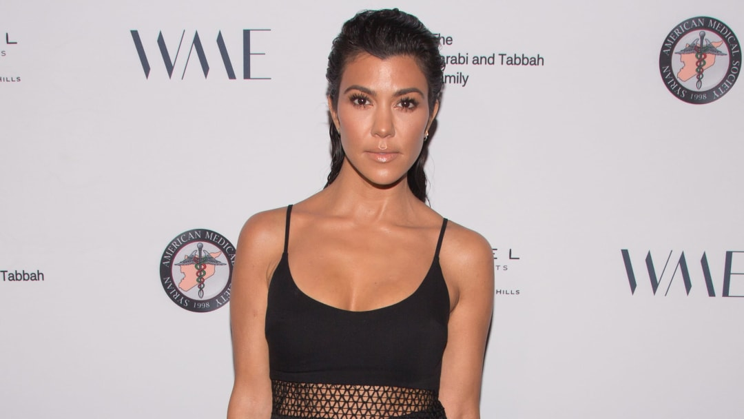 Kourtney Kardashian talks weight gain and confidence after fans say she looks pregnant.