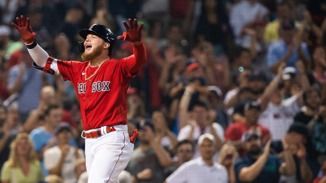 La llegada de Alex Verdugo ha sido clave  para Boston