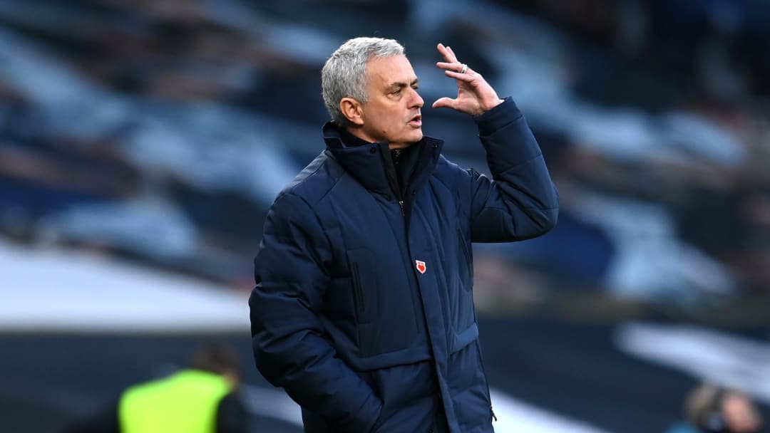 Mourinho saw his side lose for the second game in a row in the Premier League.