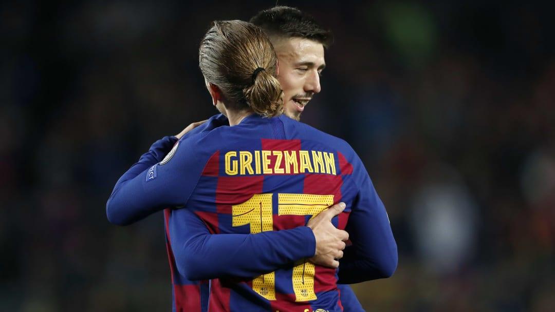 Clément Lenglet est persuadé qu'Antoine Griezmann peut mieux faire avec le FC Barcelone