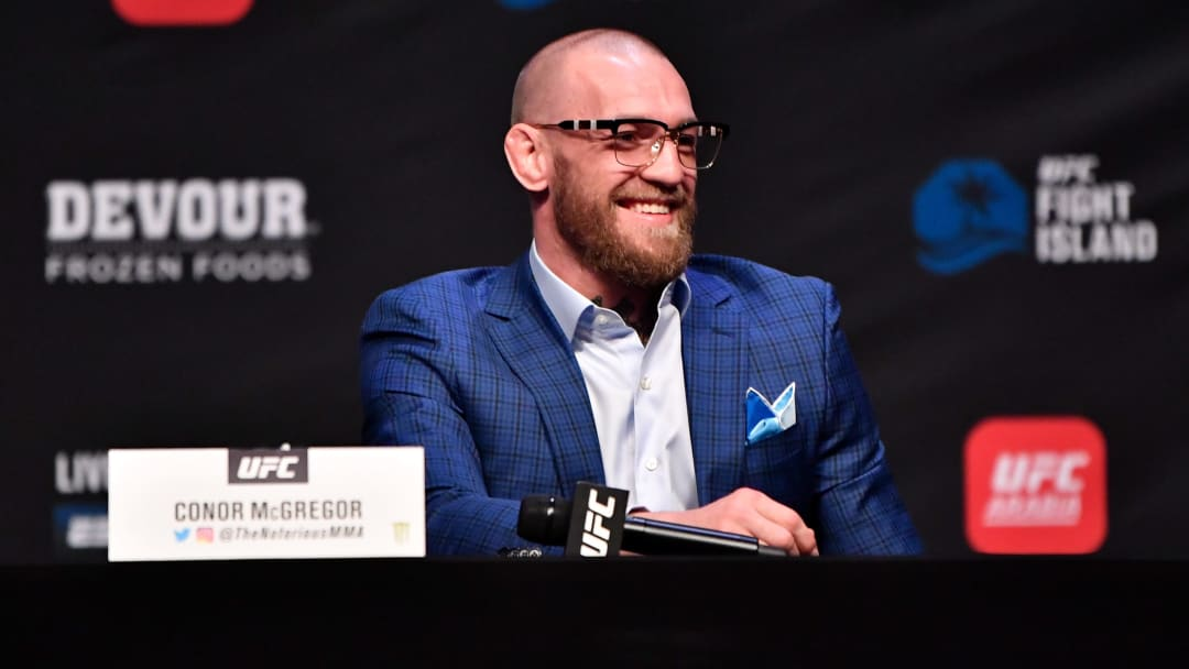 Conor McGregor came up with an incredible tweet on Tuesday night