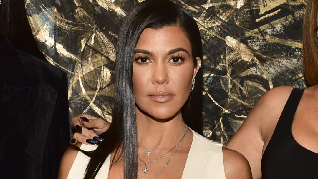 Kourtney Kardashian clapped back at a fan on Twitter.