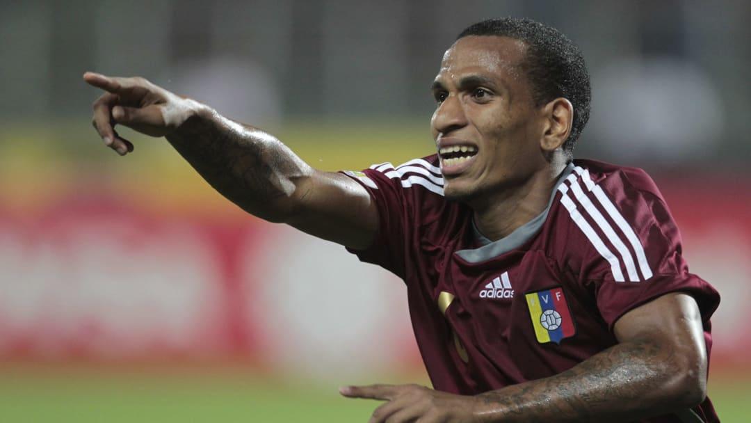 El futbolista Rómulo Otero.