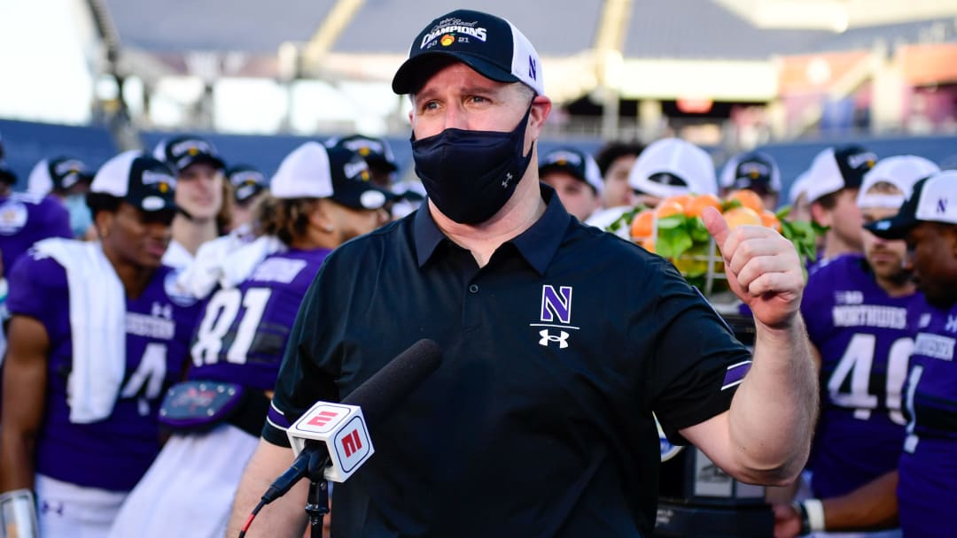 Pat Fitzgerald has his work cut out for him if he wants Northwestern to repeat as champions of the Big Ten West.