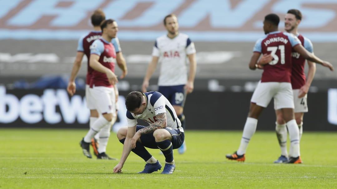 Tottenham lost again on Sunday