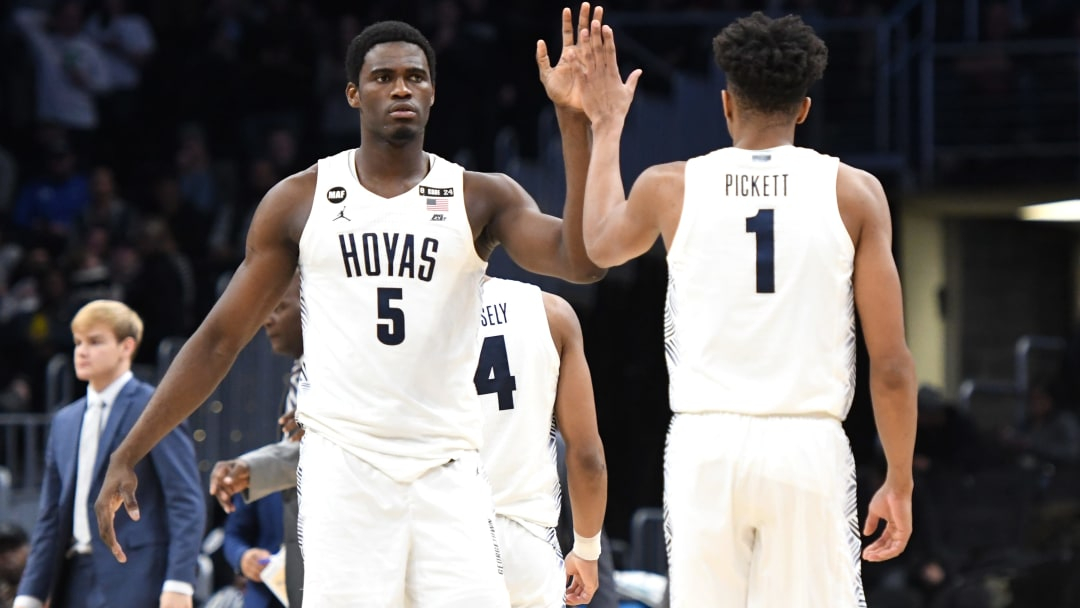 St. John's vs. Georgetown odds have the Hoyas as slim favorites over the Red Storm.