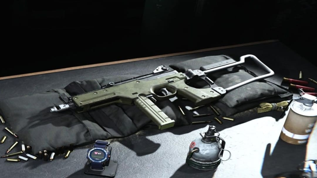 The LC10 SMG in all of its overpowered glory.