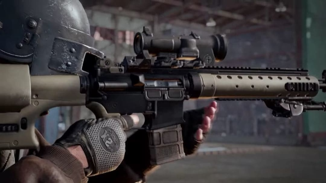 How to Get the Mk12 DMR in PUBG Taego