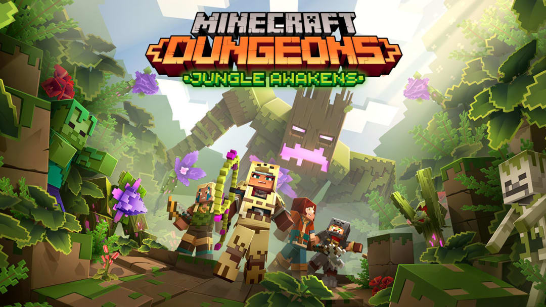 Jungles Awakens is the next Minecraft Dungeons expansion.
