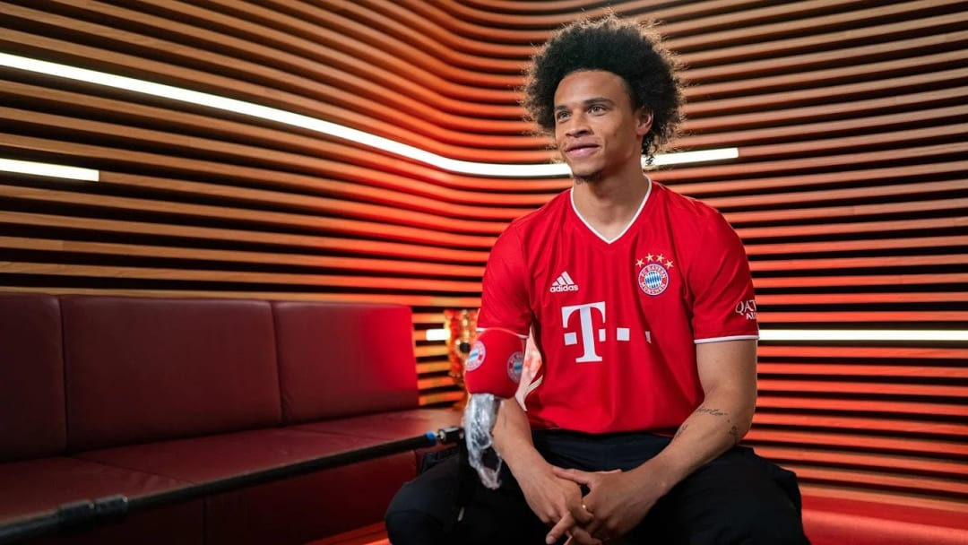 Leroy Sane is a Bayern Munich player at last