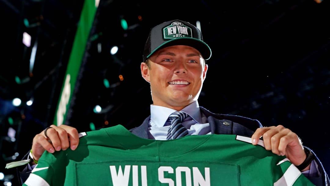 NY Jets quarterback Zach Wilson