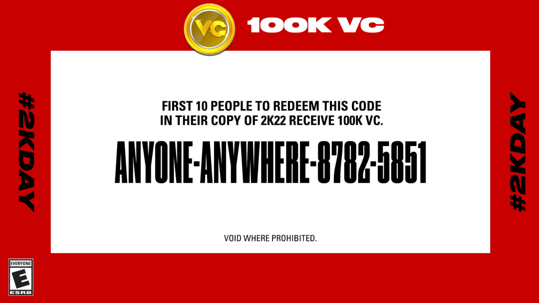 Image provided by Take-Two Interactive Software. This code is already expired.