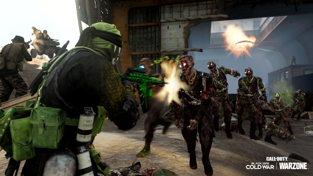 Players in Warzone can now turn into zombies.