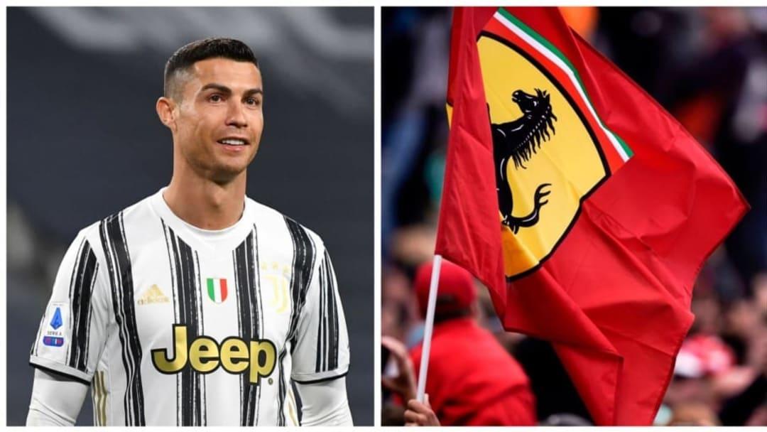 Cristiano Ronaldo et Ferrari, même combat.