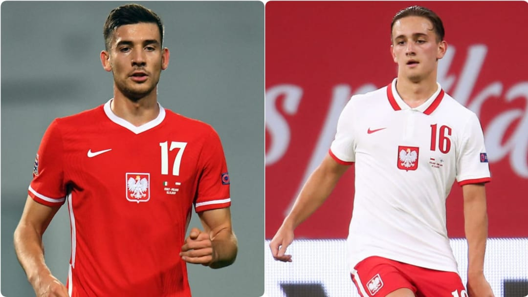 Jakub Moder and Michal Karbownik arrived in the summer from Lech Poznan and Legia Warsaw