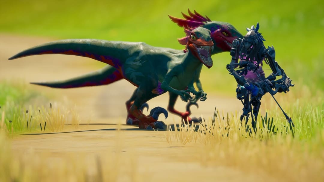 One of this week's tasks for Fortnite challenges is to hunt raptors. Here's how to find them and hunt them down. | Photo by Epic Games, @ScottVP70