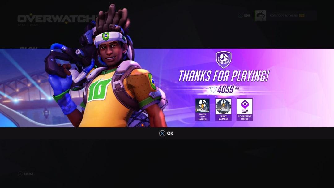 Overwatch Unusual  Bug is Handing Bronze Players Top 500 Rewards