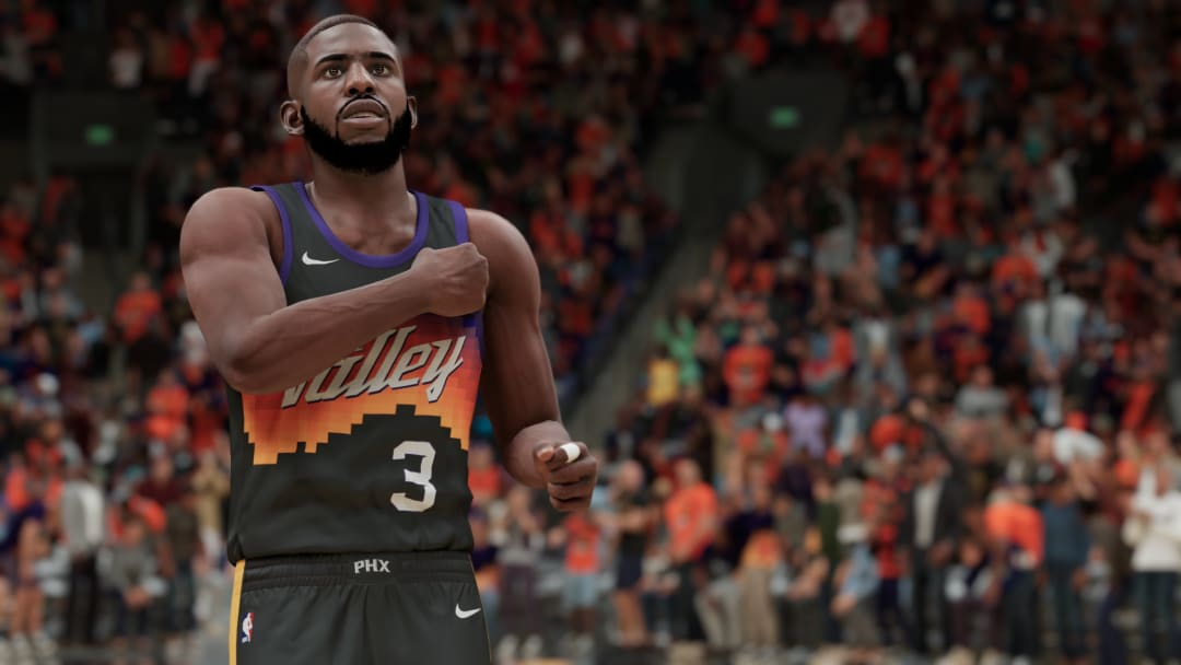 A Locker Code was broadcasted during game four of the NBA Finals between the Milwaukee Bucks and Phoenix Suns, here's the code.   Photo by 2K Games