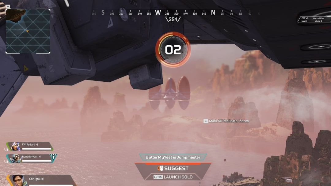 The UFO makes an appearance again in Apex Legends.