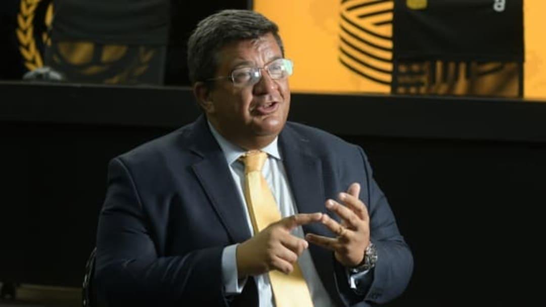 Jorge Barrera, presidente de Preñarol.