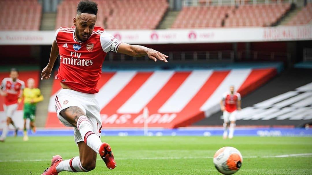 Tim Krul tặng quà cho Aubameyang, 5 phút Arsenal ghi đến 2 bàn