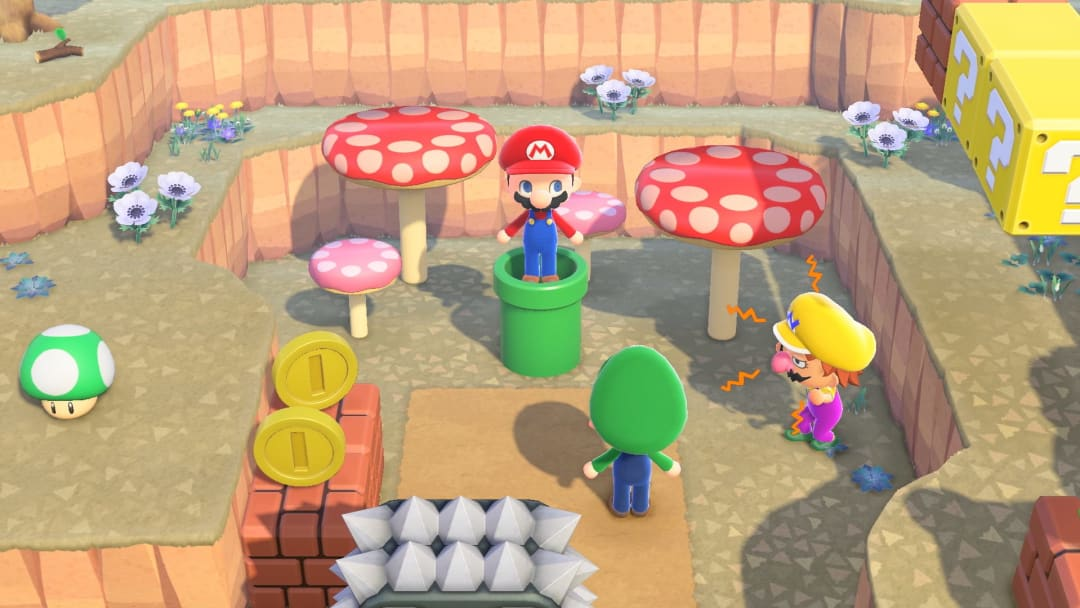 Animal Crossing: New Horizons players can now obtain Warp Pipes from the Super Mario Bros. Universe.