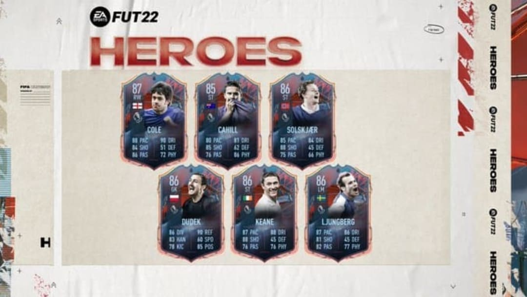 FUT Heroes é a nova categoria de cartas do Ultimate Team