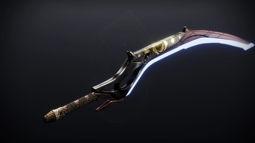 This sword is one of two caster frames