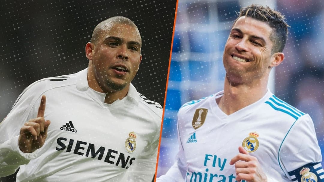 Ronaldo et Ronaldo, sous les couleurs du Real Madrid.