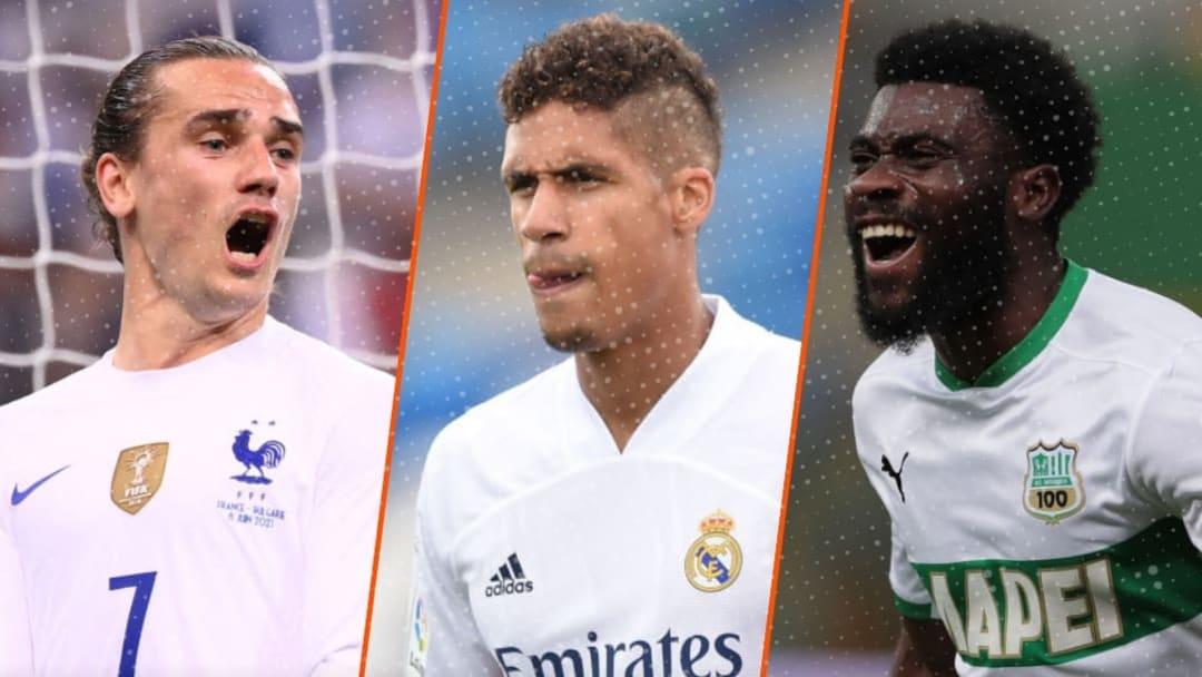 Antoine Griezmann, Raphael Varane et Jeremie Boga pourraient quitter leur club.