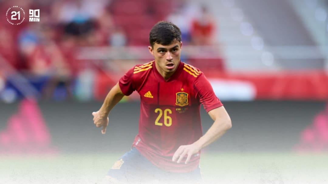 Pedri has been Euro 2020's standout young player