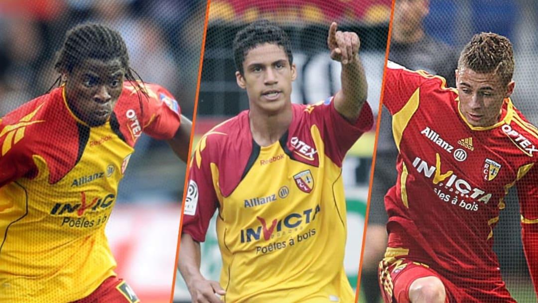 Aurier, Varane et Thorgan Hazard sous le maillot de Lens