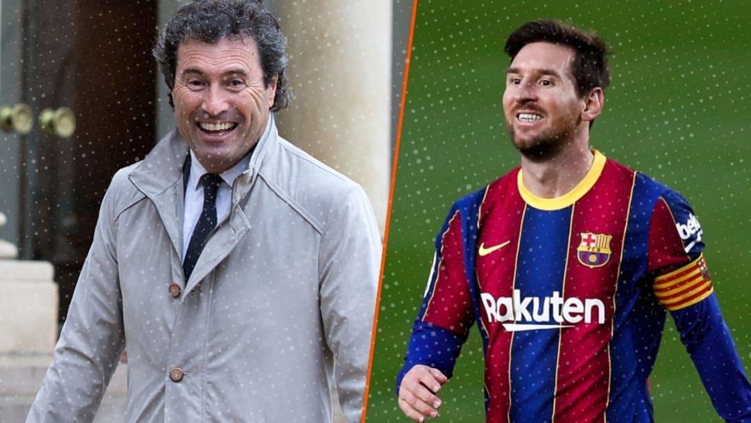 Omar da Fonseca n'a jamais caché son admiration envers Lionel Messi.