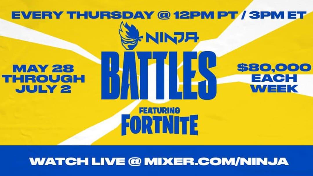 Ninja Battles Fortnite tournament results from week 1 explained.