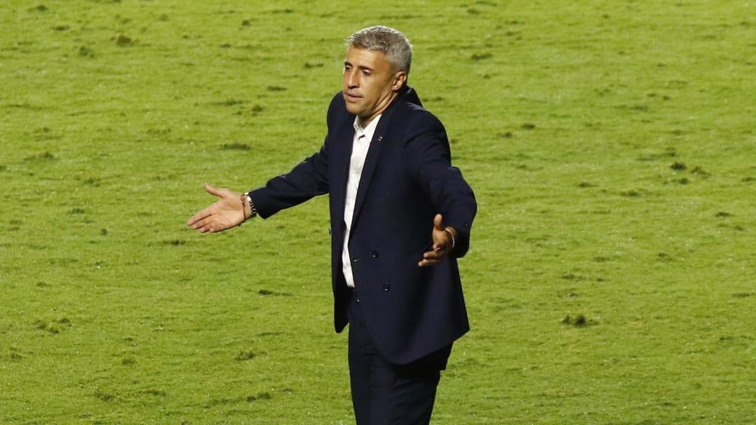 Crespo estreou no São Paulo com empate