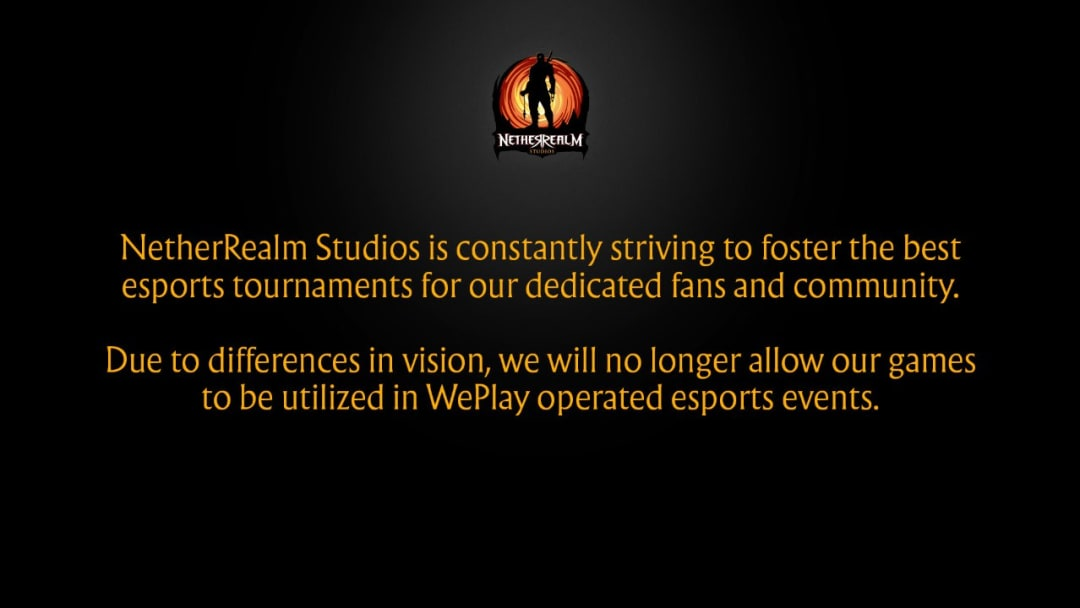 NetherRealm Studios and WePlay eSports Operations