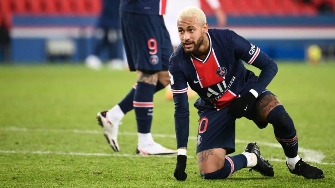 Neymar n'est pas parvenu à offrir la victoire aux Parisiens malgré son but.