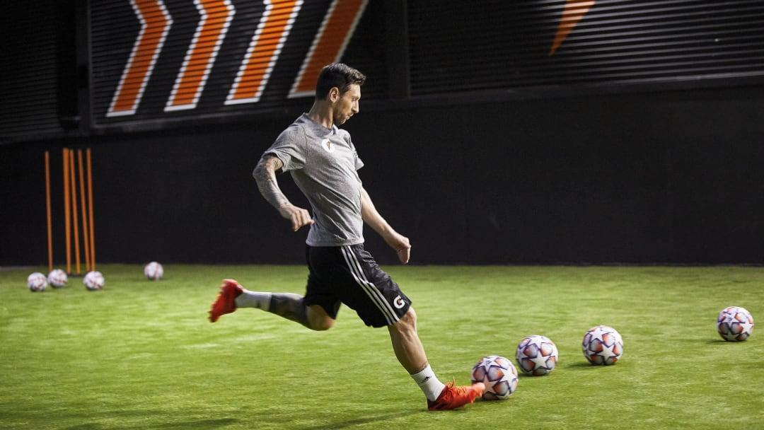 Lionel Messi has partnered with Gatorade.