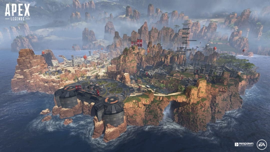 King's Canyon in Apex Legends.