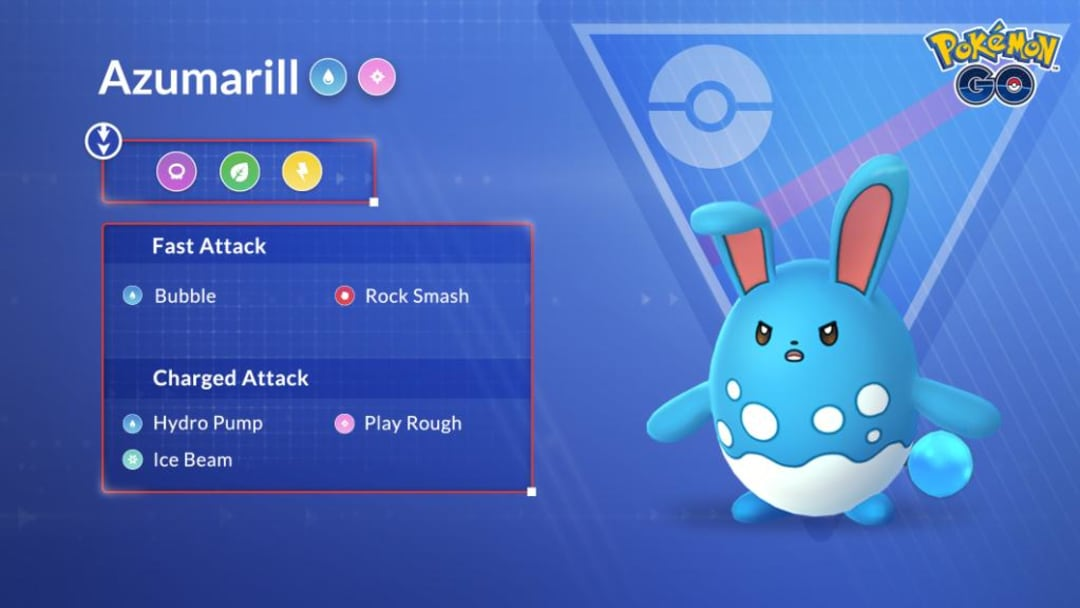 Azumarill has made quite a name for itself in Pokemon GO, leaving trainers scrambling to find its best moveset.