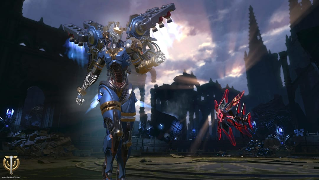 Can Skyforge be played cross-platform?